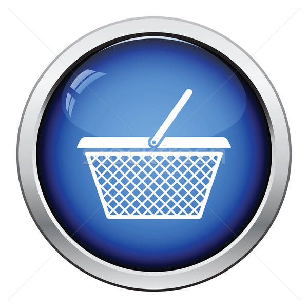 Shopping basket icon Stock photo © angelp