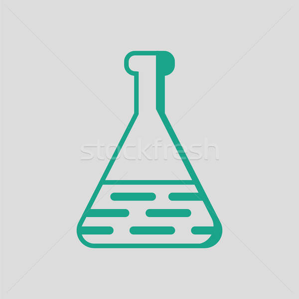 Medical flask icon Stock photo © angelp