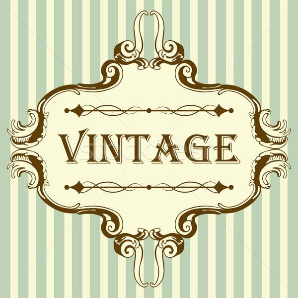 Vintage Frame Stock photo © angelp