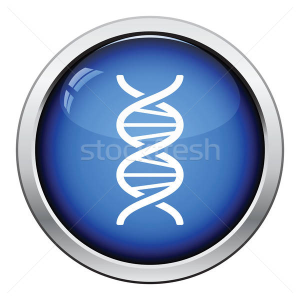 DNS ikon fényes gomb terv orvosi Stock fotó © angelp