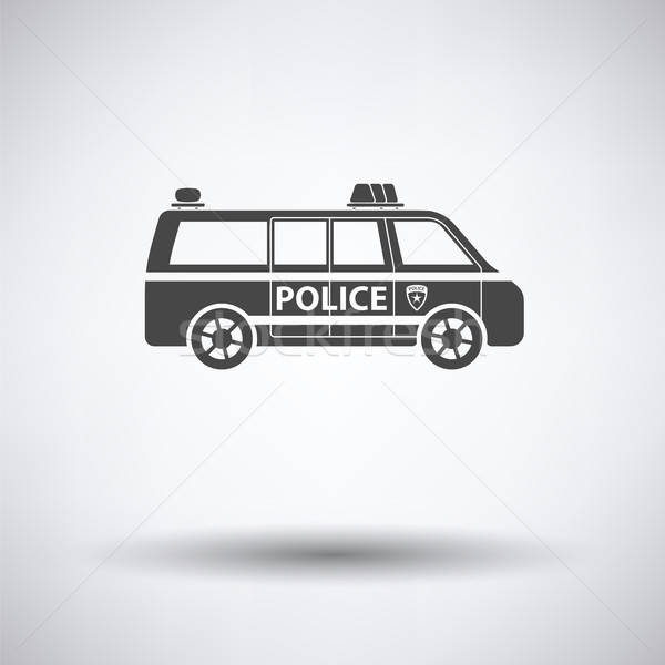 Police van icon  Stock photo © angelp