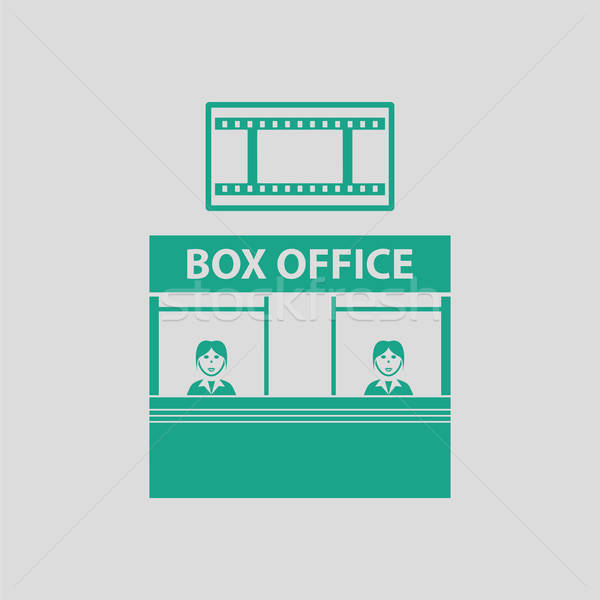 Box office icon Stock photo © angelp