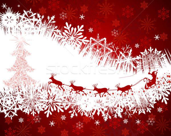 ストックフォト: クリスマス · 美しい · ベクトル · デザイン · 自然