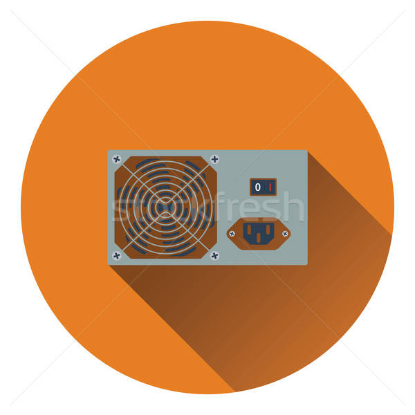 власти блок икона цвета дизайна сервер Сток-фото © angelp