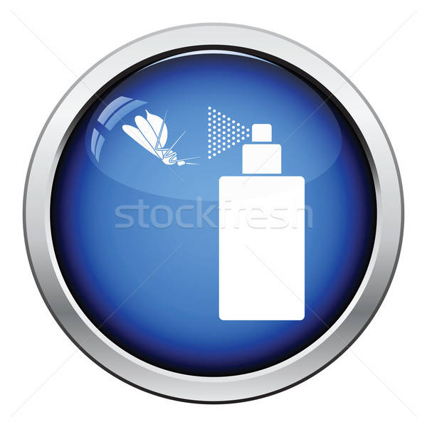 Mosquito spray icon Stock photo © angelp