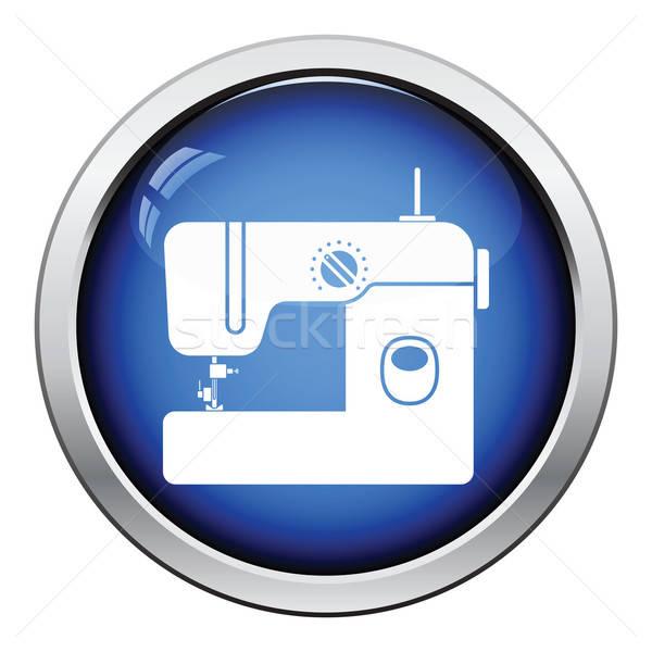 современных швейные машины икона кнопки дизайна Сток-фото © angelp