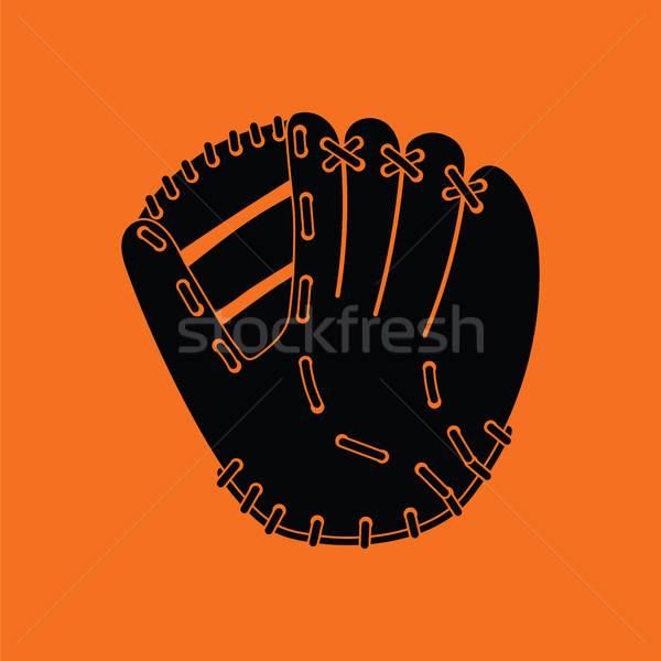 Baseball glove icon Stock photo © angelp