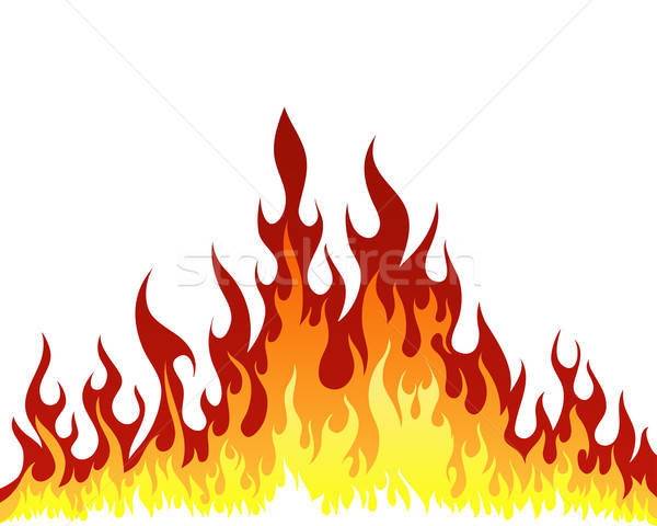 火災 インフェルノ ベクトル デザイン にログイン 黒 ストックフォト © angelp