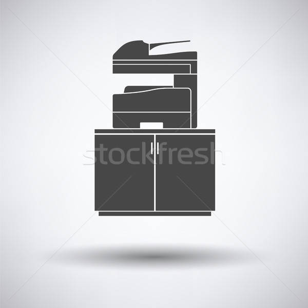 Copying machine icon Stock photo © angelp