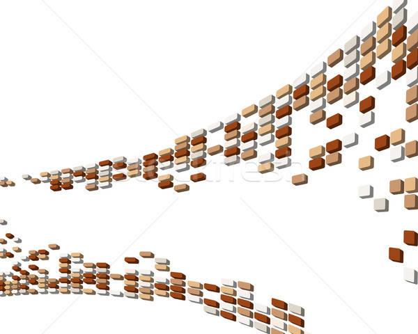 Streszczenie 3D działalności web design projektu piękna Zdjęcia stock © angelp