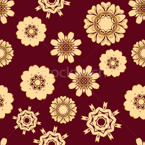 Zdjęcia stock: Bezszwowy · kwiatowy · projektu · łatwe