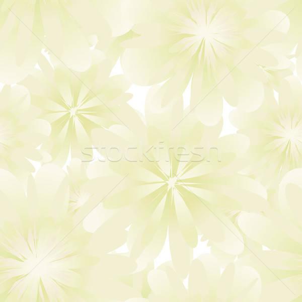シームレス フローラル ベクトル 簡単 ストックフォト © angelp