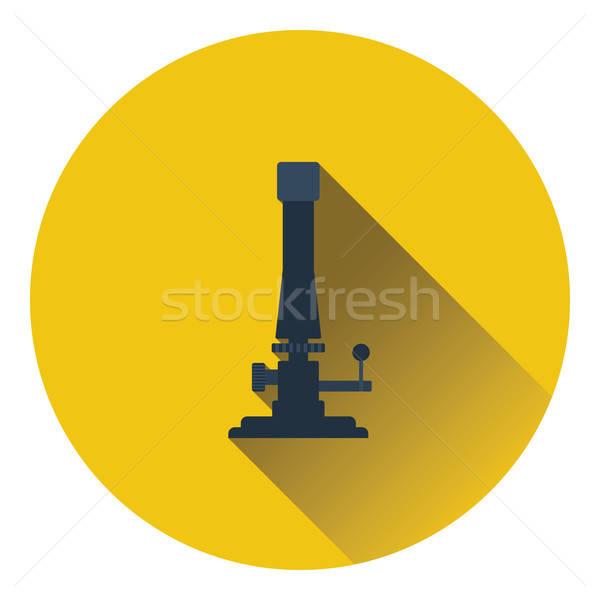 икона химии цвета дизайна технологий науки Сток-фото © angelp