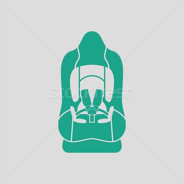 Baby car seat icon Stock photo © angelp