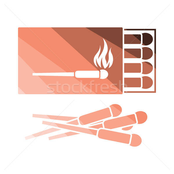 Match box  icon Stock photo © angelp