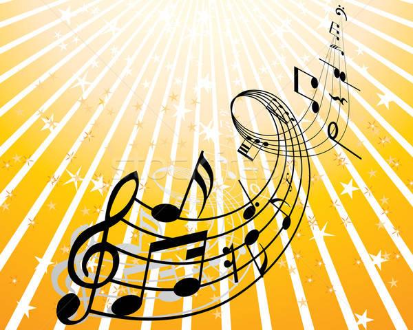 music theme Stock photo © angelp