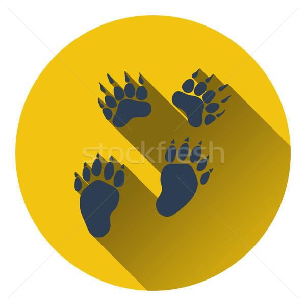 Icon beer ontwerp achtergrond teken dienst Stockfoto © angelp