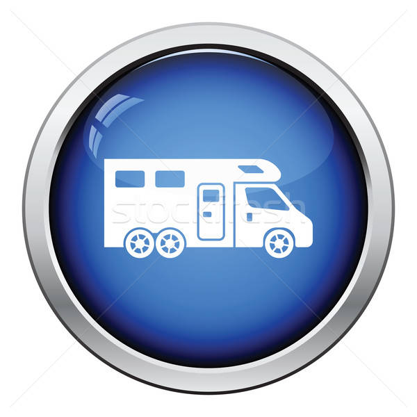 Camping family caravan  icon Stock photo © angelp