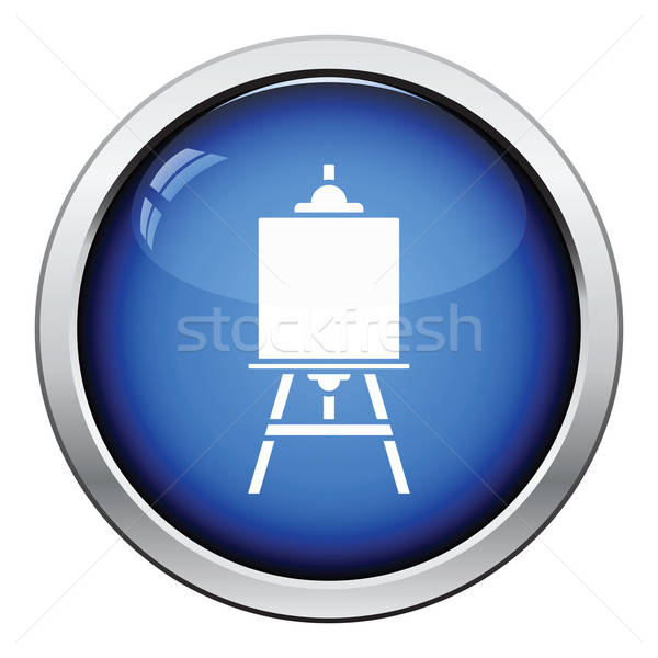 Easel icon Stock photo © angelp
