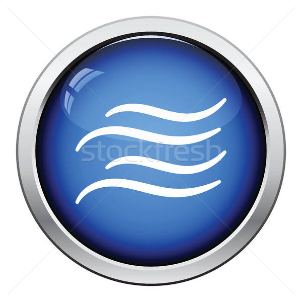 Water wave icon Stock photo © angelp