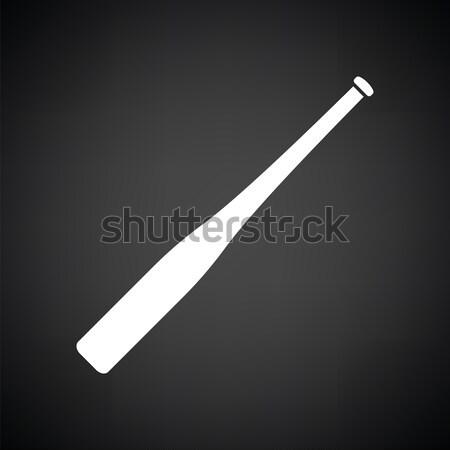 Police baton icon Stock photo © angelp