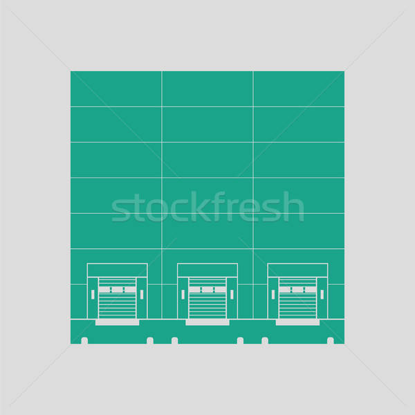 Warehouse logistic concept icon Stock photo © angelp