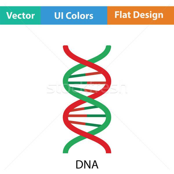 DNS ikon szín terv absztrakt orvosi Stock fotó © angelp