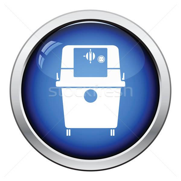 Icon of vacuum cleaner Stock photo © angelp