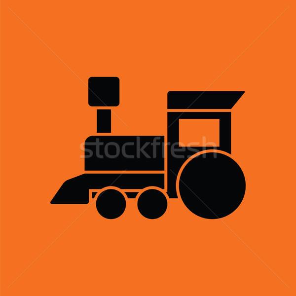 Train toy ico Stock photo © angelp