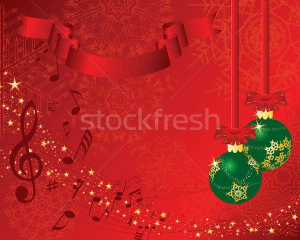 christmas postcard Stock photo © angelp