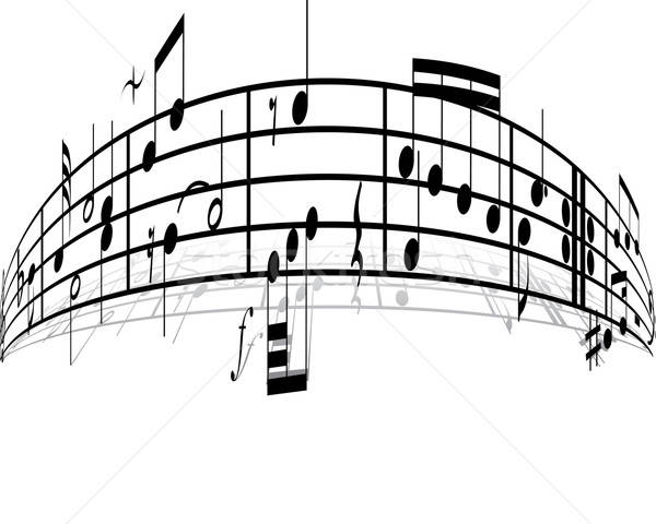 music background Stock photo © angelp