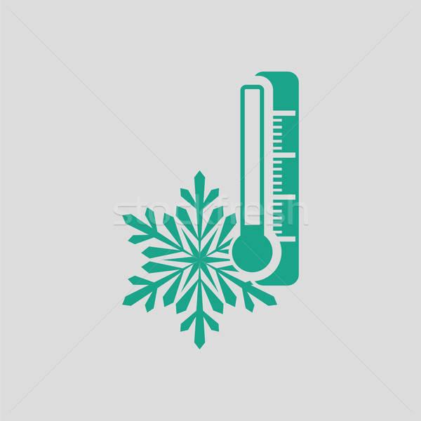 Winter cold icon Stock photo © angelp