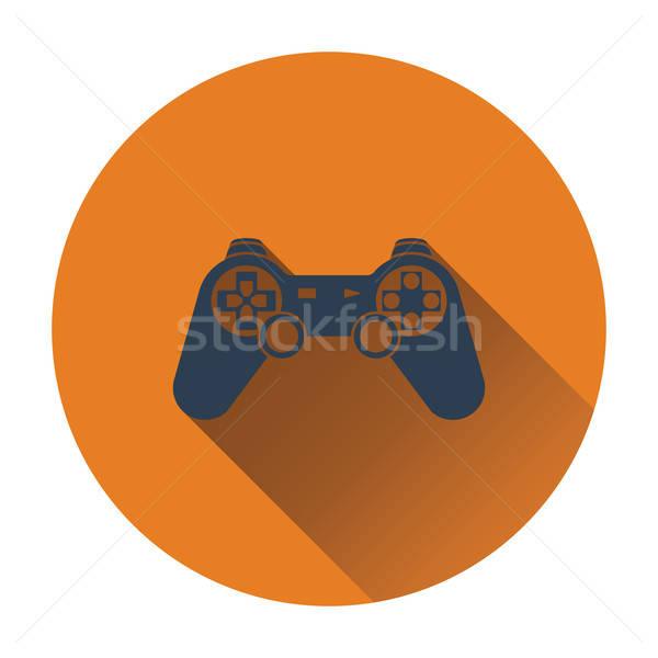 геймпад икона дизайна технологий веб цвета Сток-фото © angelp
