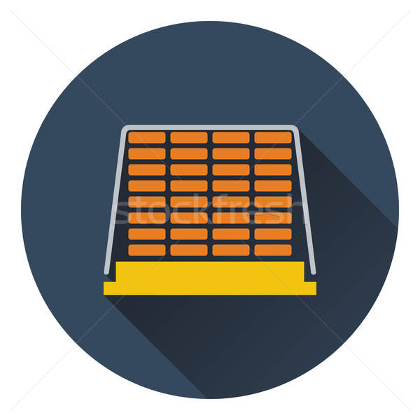 Icon of construction pallet  Stock photo © angelp