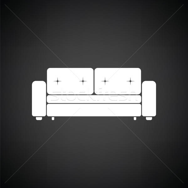 Cinema Sofa Icon Vector Illustration C Pavel Konovalov Angelp