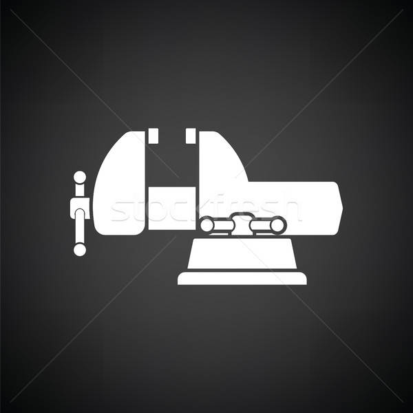 Vise icon Stock photo © angelp