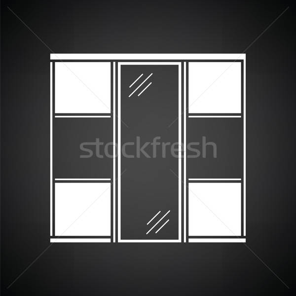 Wardrobe closet icon Stock photo © angelp
