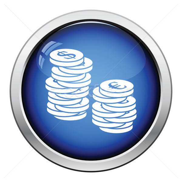 Stack of coins  icon Stock photo © angelp