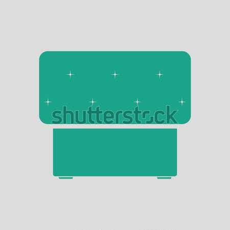 Bedroom pouf icon Stock photo © angelp
