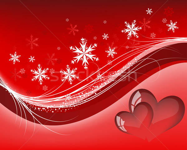 St. Valentine's day card Stock photo © angelp