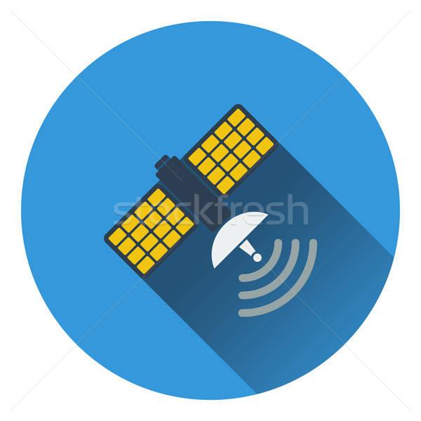 Satellite icon Stock photo © angelp