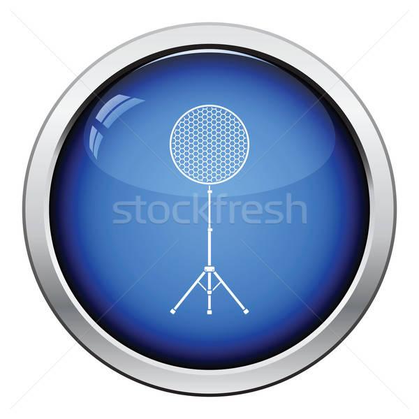 Ikona piękna naczyń flash przycisk Zdjęcia stock © angelp