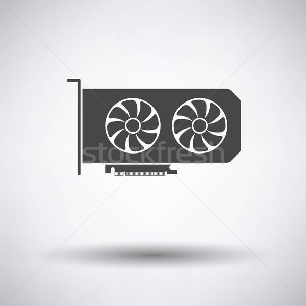 GPU icon Stock photo © angelp