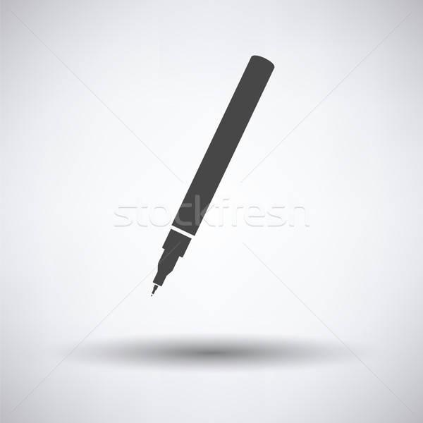 Liner pen icon Stock photo © angelp