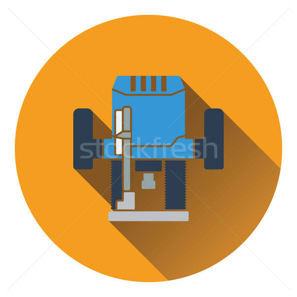 Icon of plunger milling cutter Stock photo © angelp