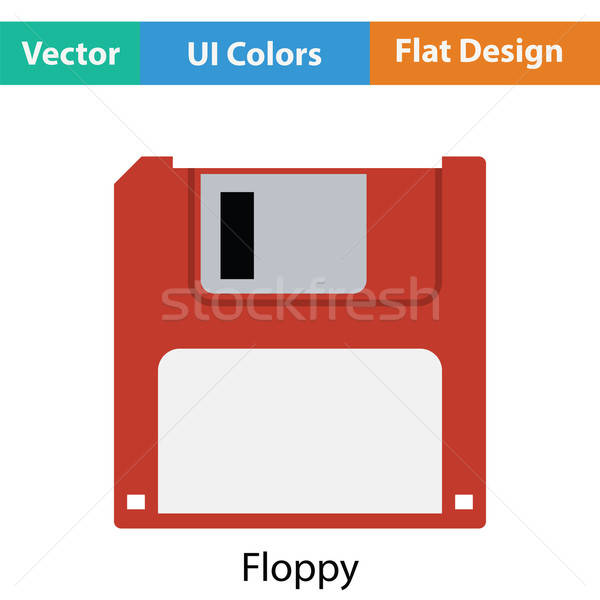 Floppy icon Stock photo © angelp