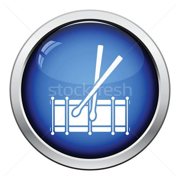 Drum toy icon Stock photo © angelp