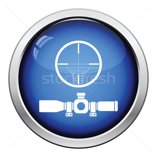 Scope icon Stock photo © angelp