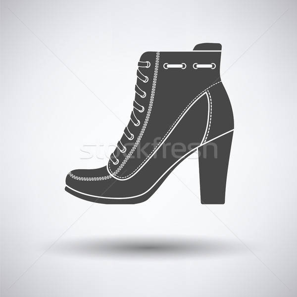Ankle boot icon Stock photo © angelp