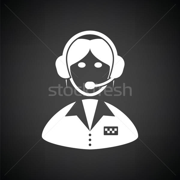 Taxi dispatcher icon Stock photo © angelp